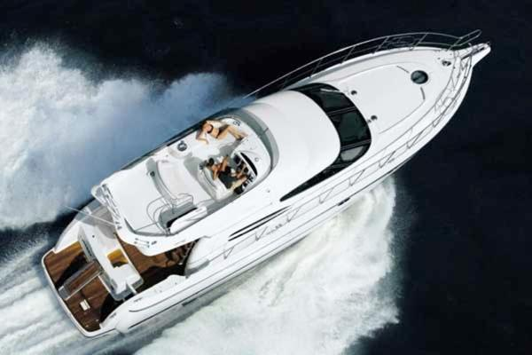 Cranchi Atlantique 48 Flybridge Titel