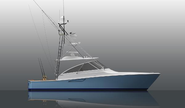 Viking 38 Billfish Open Starboard Side