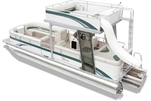 Tahoe Double Decker Pontoon w Trailer and Sea Legs Vista Funship - 26' Manufacturer Provided Image