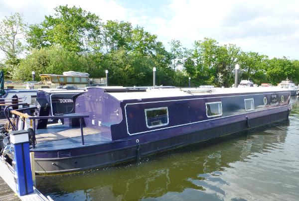 Hanbury Monarch 60 'x 11' Widebeam Barge