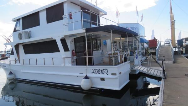 Custom Nustar Catamaran
