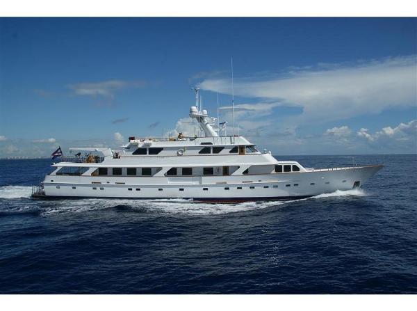 Picchiotti Tri Deck Motor Yacht 150' Picchiotti Motor Yacht GOLDEN COMPASS