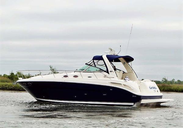 Sea Ray 380 Sundancer Port Profile