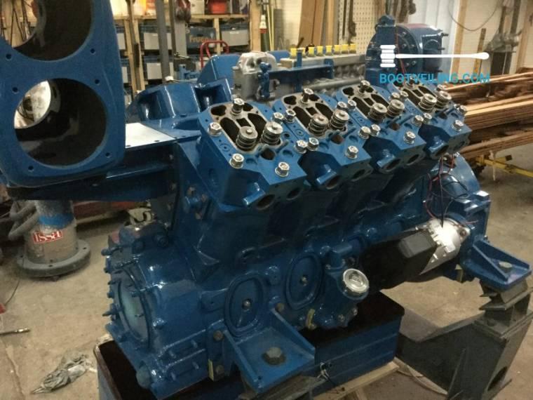 Kromhout Motor 271 PK