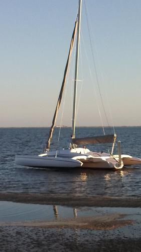 Corsair Sprint 750 MK II At anchor