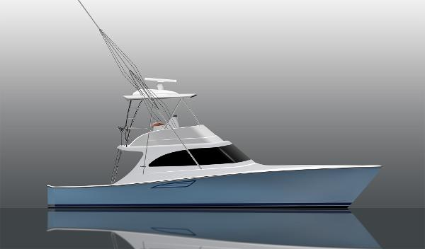 Viking 46 Billfish Starboard Side