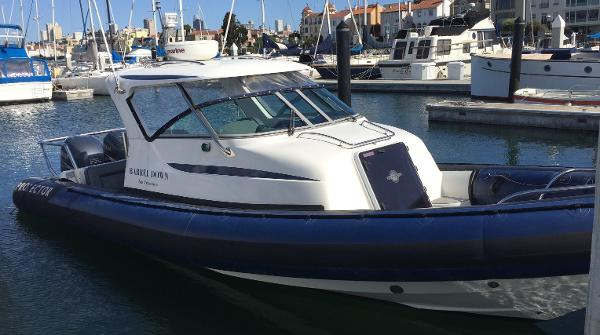 Protector Targa 28 Starboard Side View