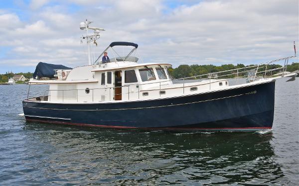 Krogen Express 52 Fast Trawler CRUISING