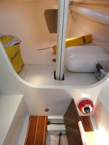 J Boats J/80 J/80 Interior and bilge