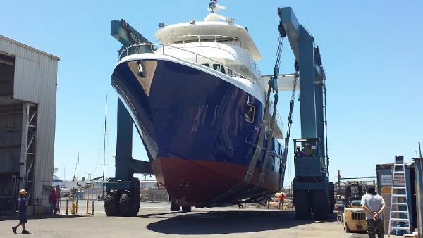 AllSeas Luxury Expedition Yachts 92 Allseas 92 Launching