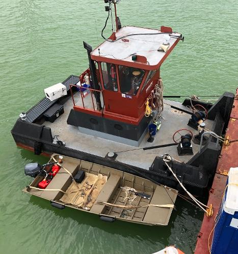 Commercial Push Tug for Charter