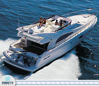Ferretti Yachts 590 Manufacturer Provided Image: Aft