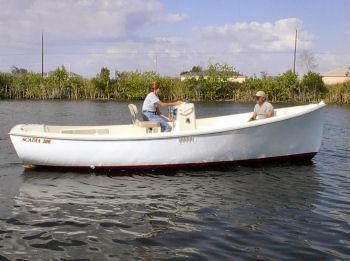 Atlas Boat Works Acadia 21E