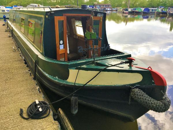 Narrowboat Liverpool Boats 50'