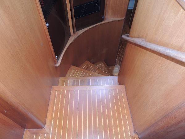 Stairs to Stateroom