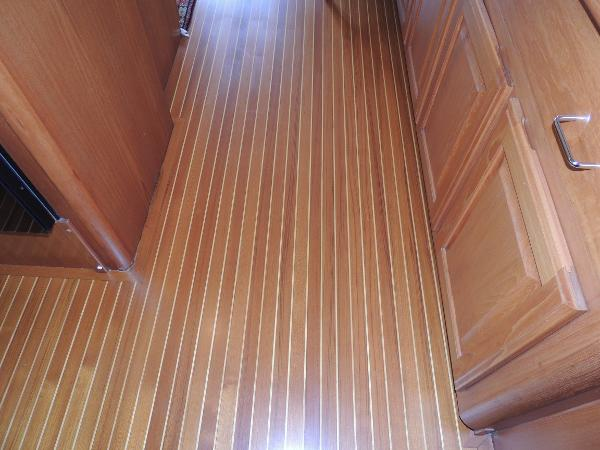 Teak & Holly Floor