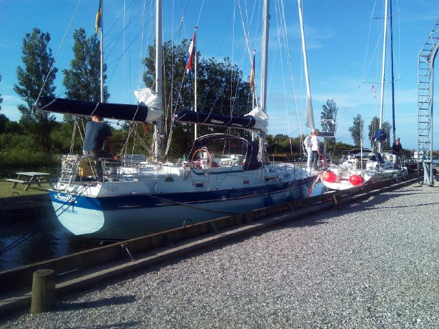 Smilla, Camper & Nicholson 39 Ketch at a berth