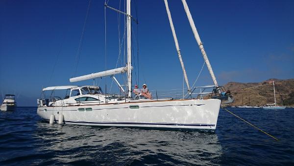 Jeanneau 54 At Anchor
