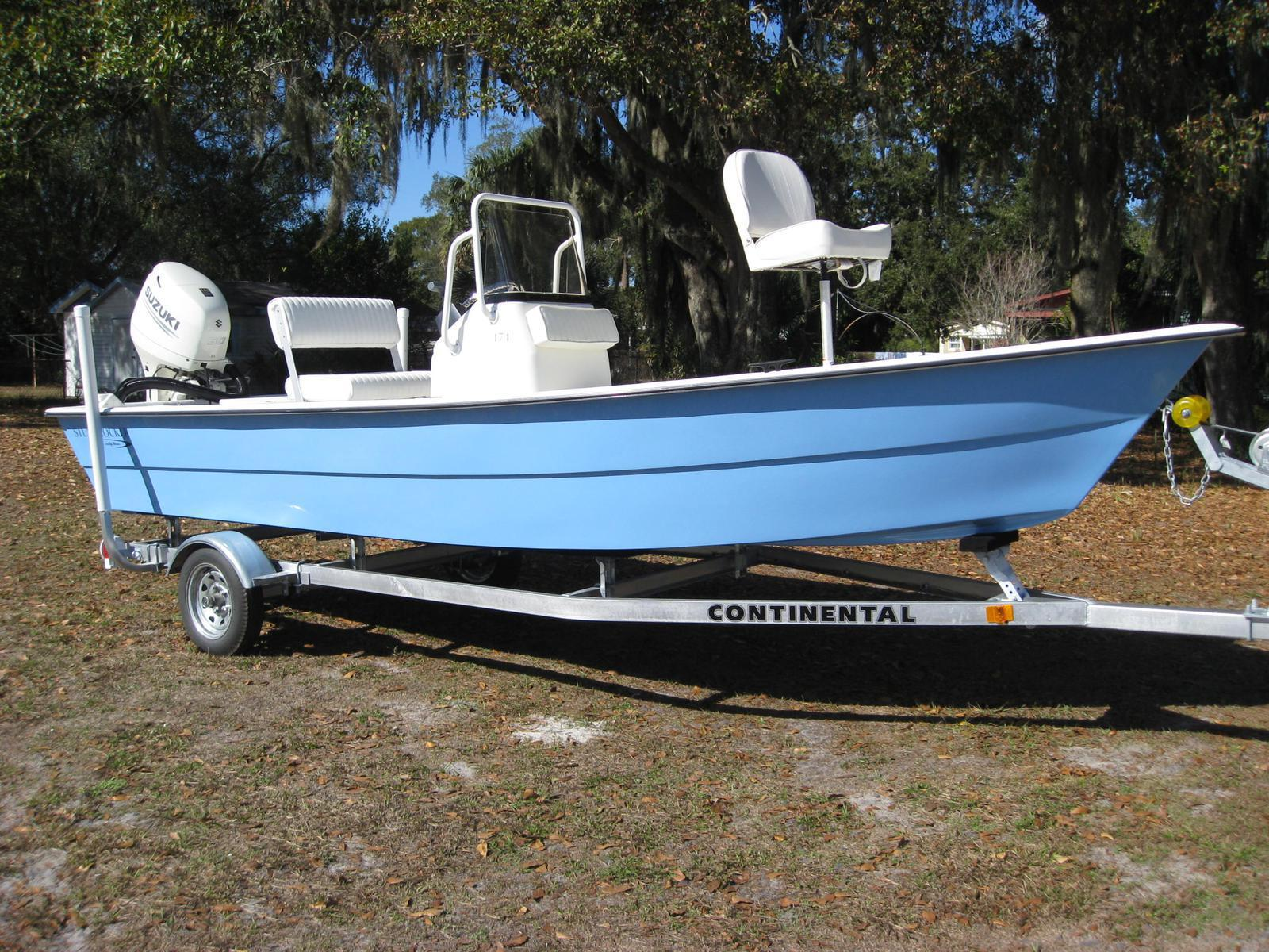 Stumpnocker 174 CC Skiff