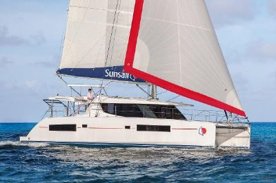 Sunsail 454 Sunsail 454 Sailing