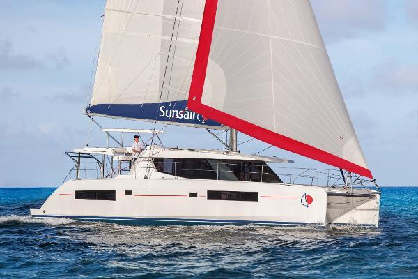 Sunsail 454 Manufacturer Provided Image: Sunsail 454 Sailing