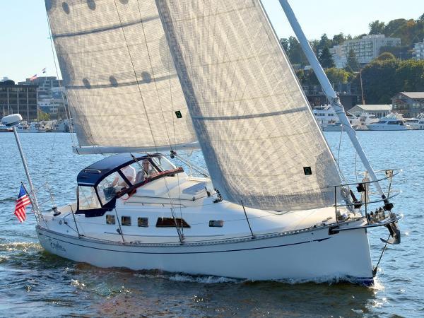 Saga 35 Sailing
