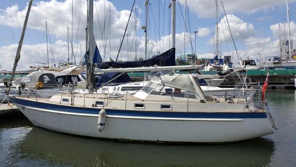 Malo 38 Marina berth.