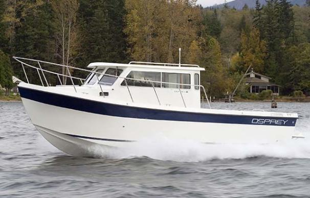 Osprey Pilothouse 26 Long Cabin Manufacturer Provided Image