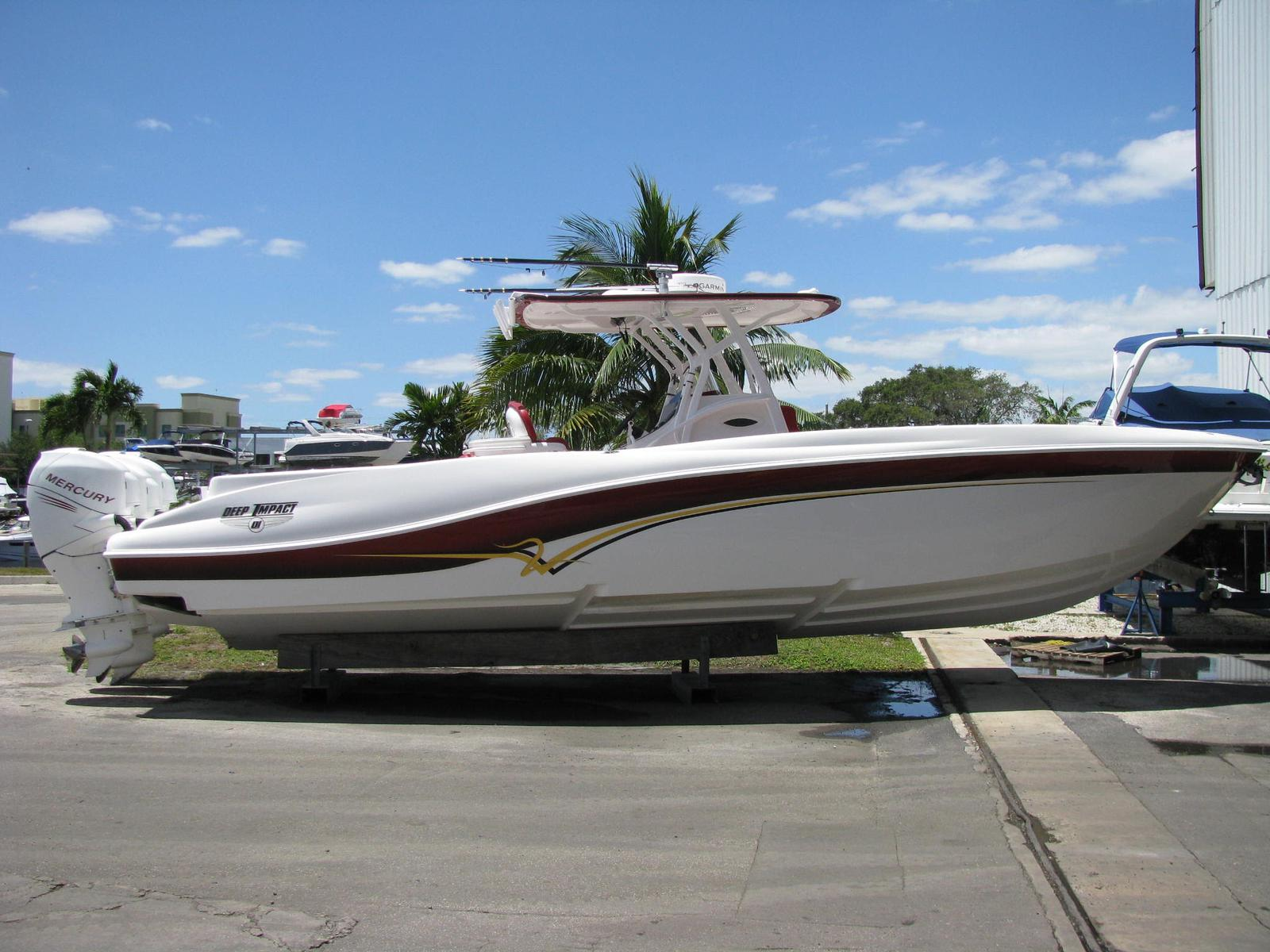 Deep Impact Power Boats 36 TE