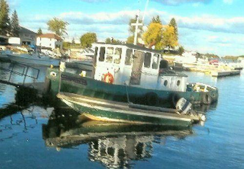 38' x 12' Steel Russel Bros Built Tug Boat 380 hp