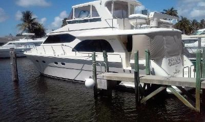 Hampton 580 Pilothouse