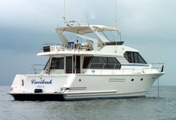 West Bay 58 Sonship Pilothouse Starboard Aft Profile