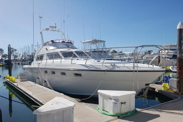 Sea Hawk 48 Sedan /MY Starboard Profile