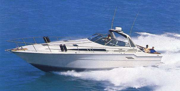 Sea Ray 460 Express Cruiser Manufacturer Provided Image