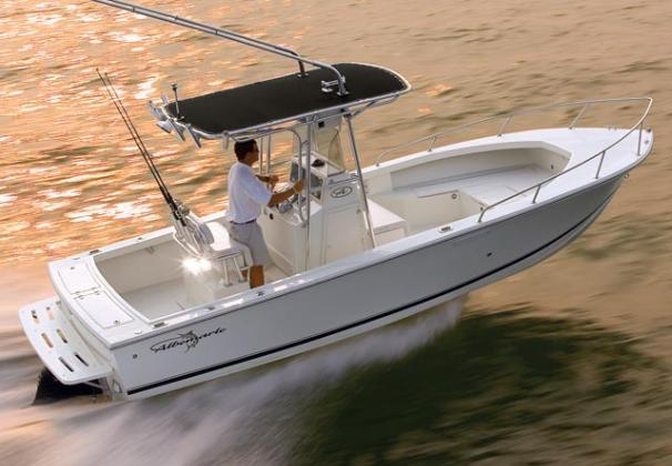Albemarle 242 Center Console Manufacturer Provided Image