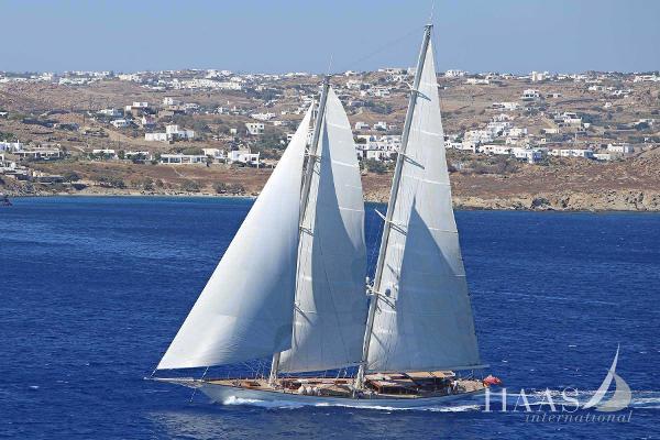 Ada Yacht Classic schooner Sailing