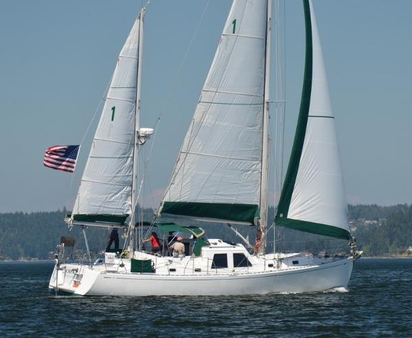 Perry Pilothouse Sailing