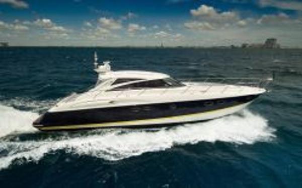 Princess V58 Starboard Side
