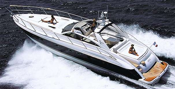 Marine Projects Princess V55 Manufacturer Provided Image