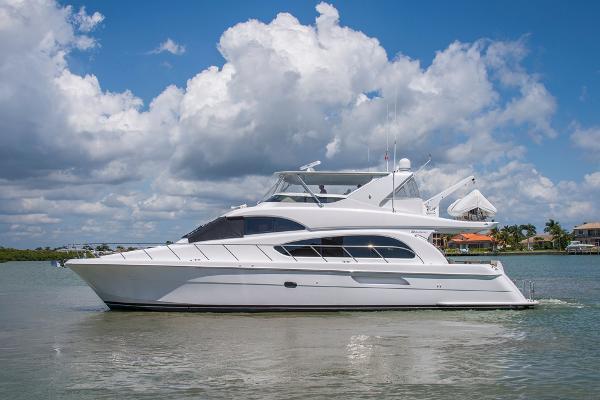 Hatteras 64 Motor Yacht Port Profile