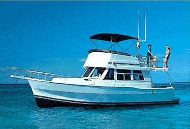 Mainship 350 Trawler Manufacturer Provided Image