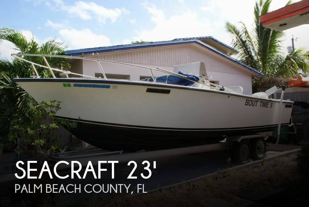 Sea Craft 23 Master Angler 1987 SeaCraft 23 Master Angler for sale in Lake Worth, FL