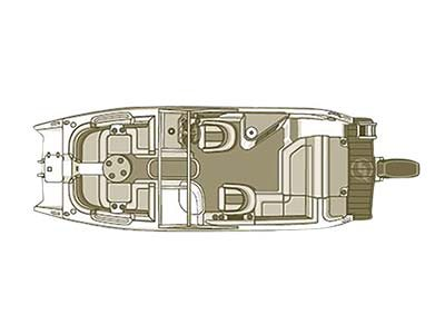STARCRAFT MARINE Crossover 250 SCX EXT OB