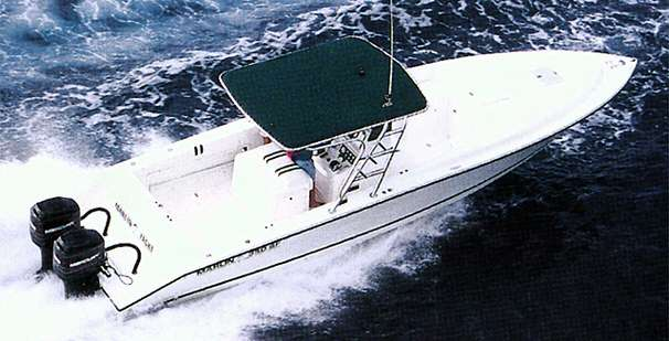 Marlin Yachts 350 SF Manufacturer Provided Image