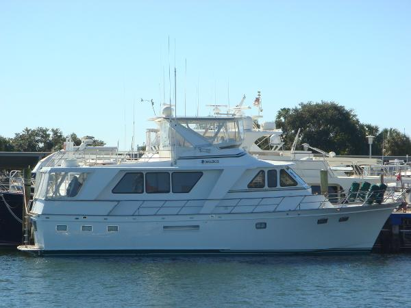 Defever Performance Offshore Cruiser 53' DeFever starboard profile