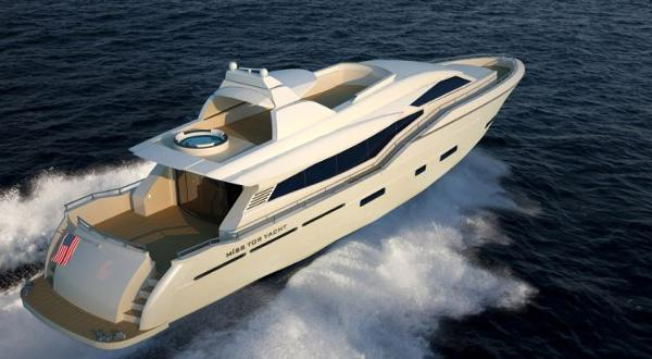 Miss Tor Yacht 110 Stern