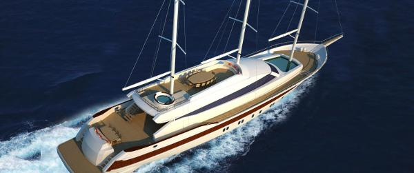 Miss Tor Yacht Schooner 130 Cruising