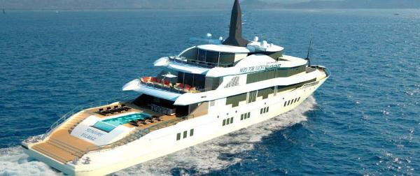 Miss Tor Yacht Custom 230 Stern