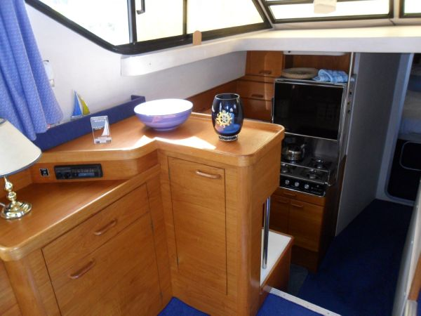 Saloon - Galley Port Side