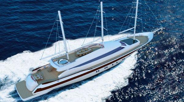 Miss Tor Yacht Schooner 165 Cruising